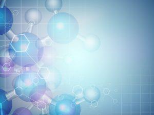 Techno molecular image